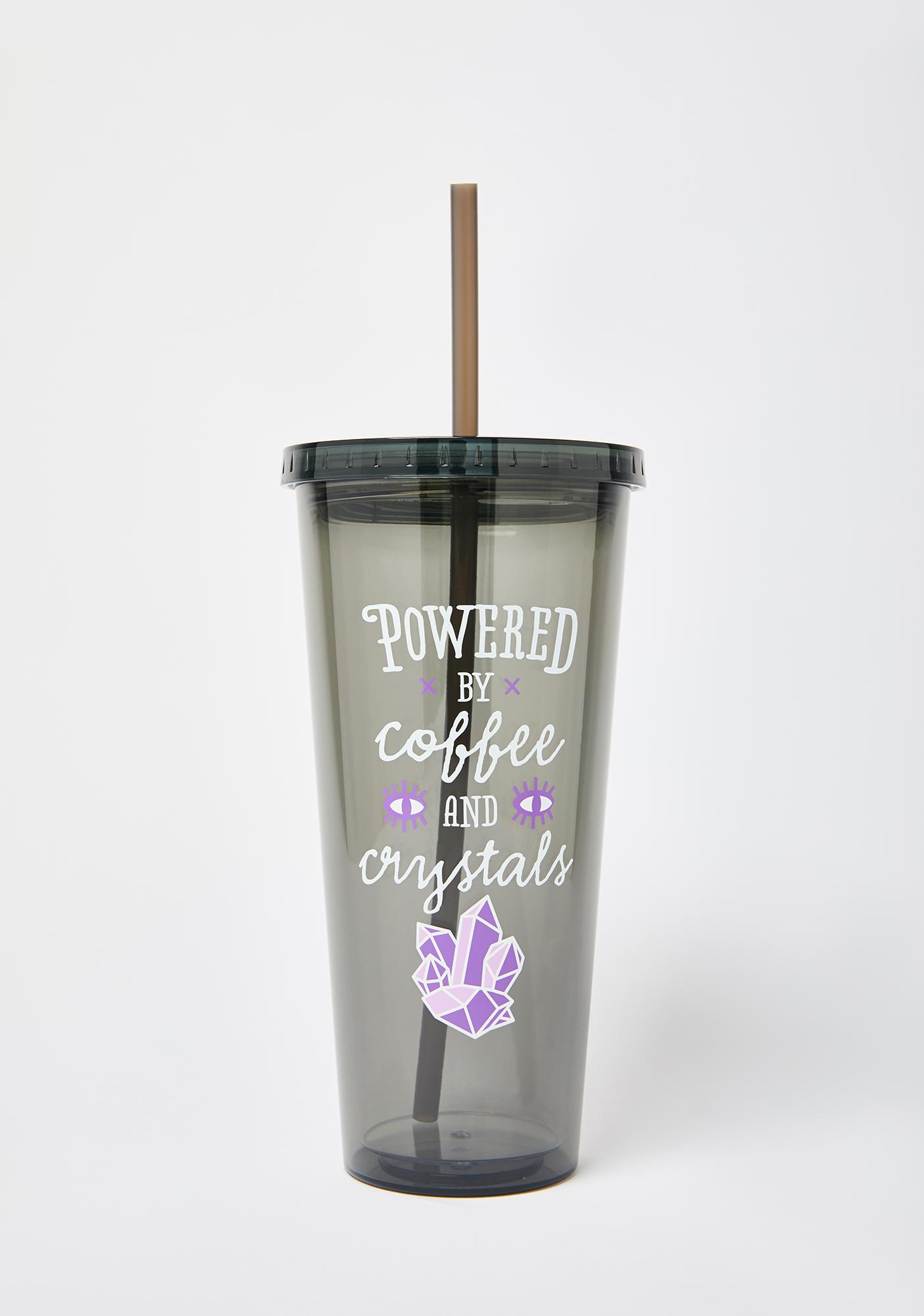 Femfetti Coffee and Crystals Tumbler