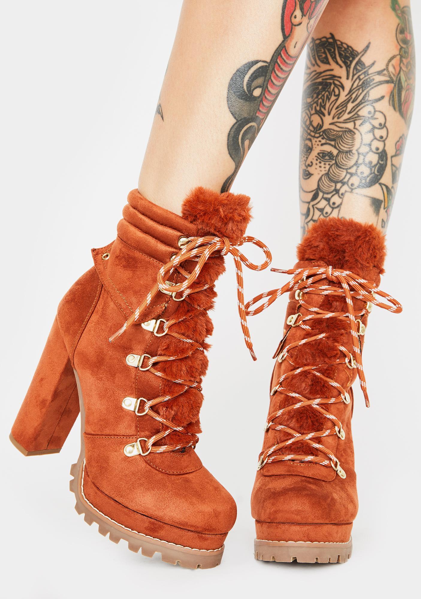 Frigid Heights Platform Boots