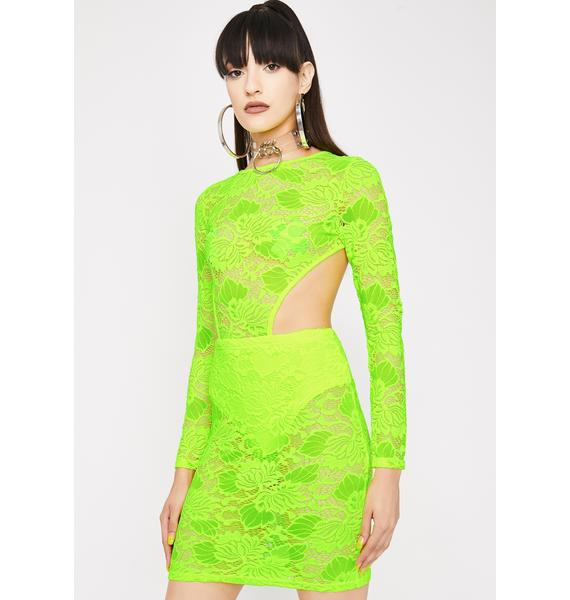 Electric Diva Dominion Lace Dress