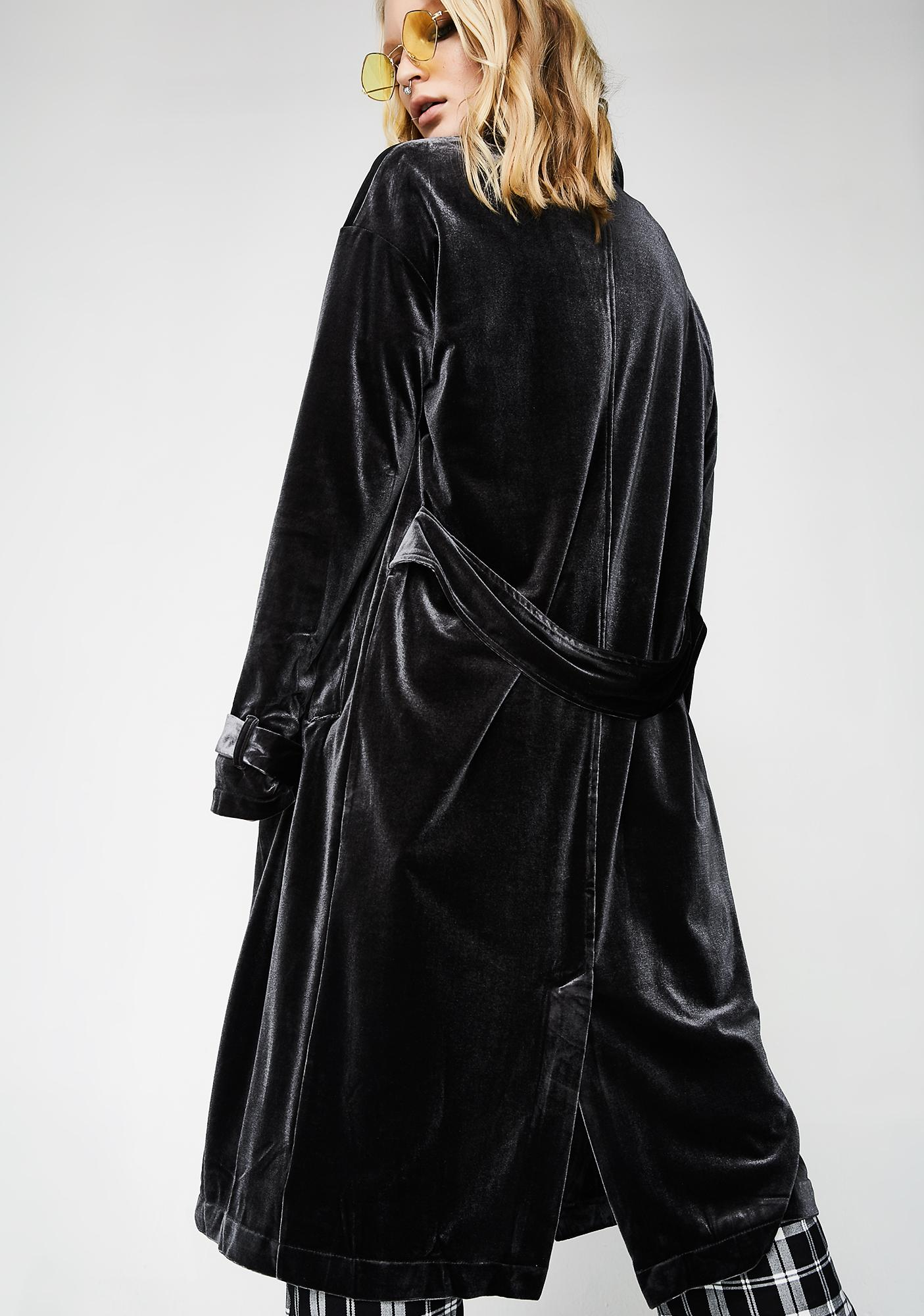 Walk The Walk Velvet Robe