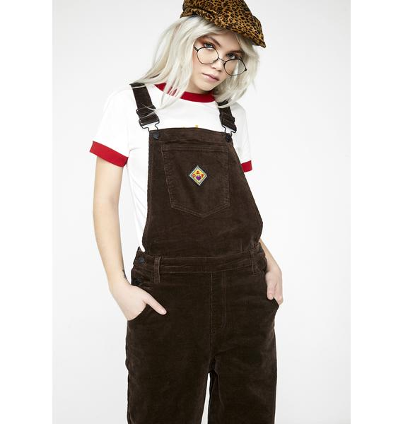 Lazy Oaf Patch It Up Dungarees