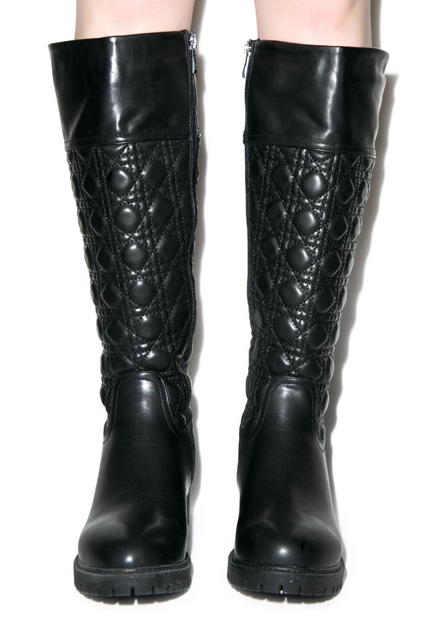 Pirelli Quilted Boots