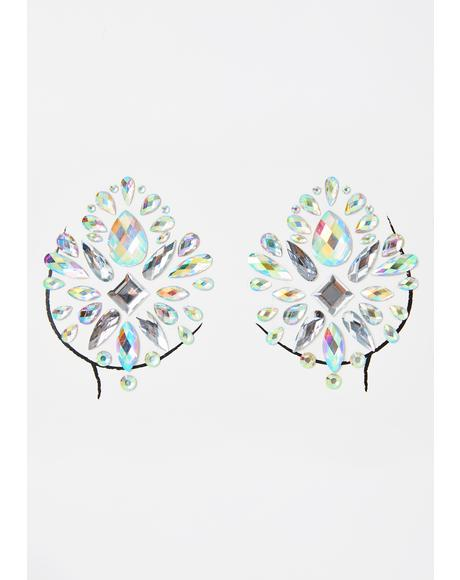 Crystal Fairy Gem Pasties