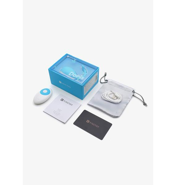 Emojibator Doris Love Egg Whale Remote Control Vibrator