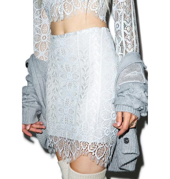 For Love & Lemons Lyla Mini Skirt
