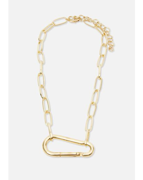 Golden Handy Dandy Chain Necklace