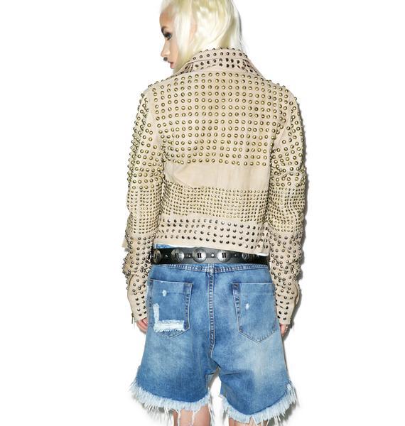 One Teaspoon Ford Frankies Denim Shorts