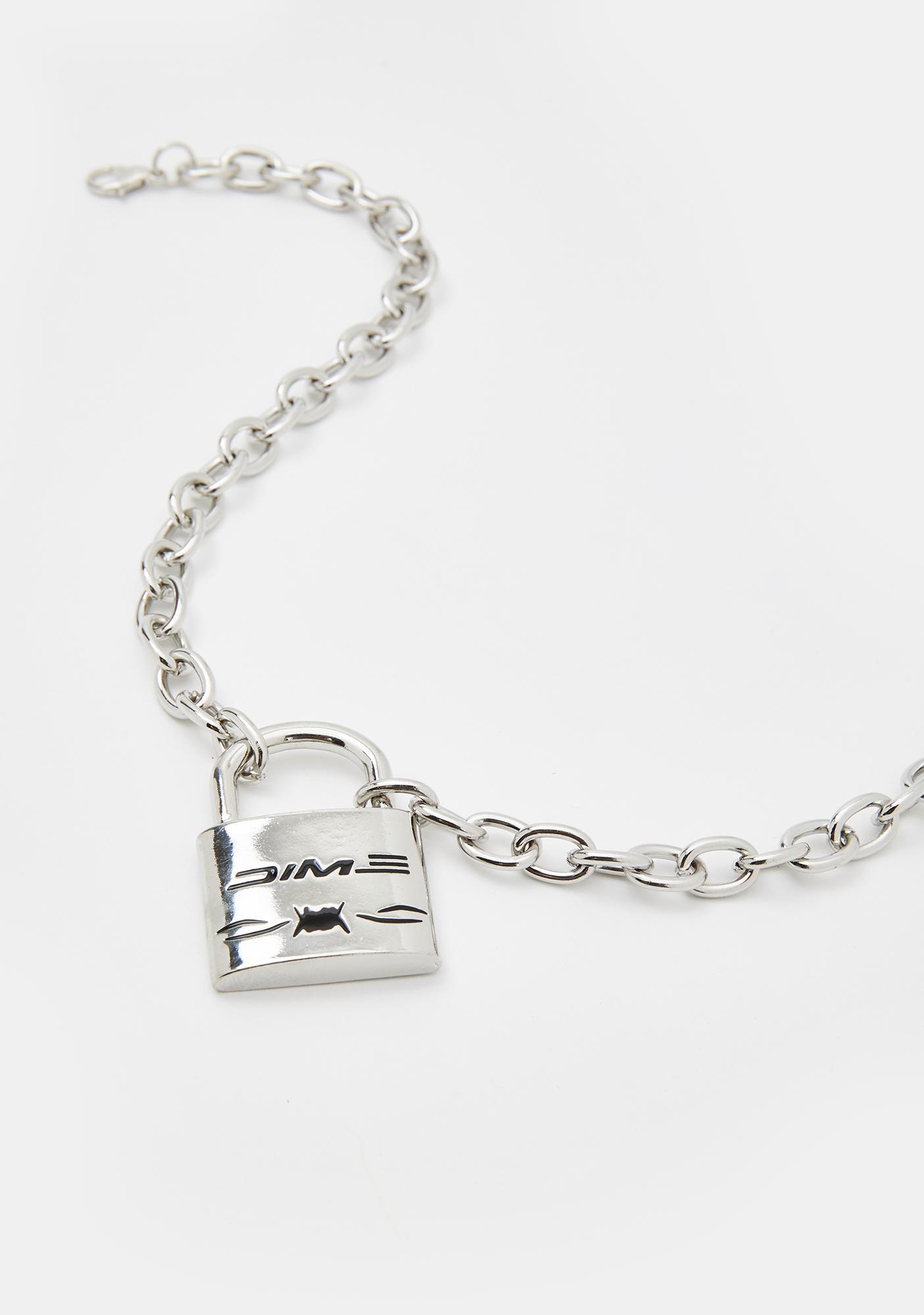 Cuffin' SZN Lock Necklace