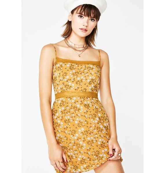 School Girl Crush Mini Dress