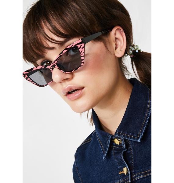 Replay Vintage Sunglasses Wild Fantasy Zebra Sunglasses