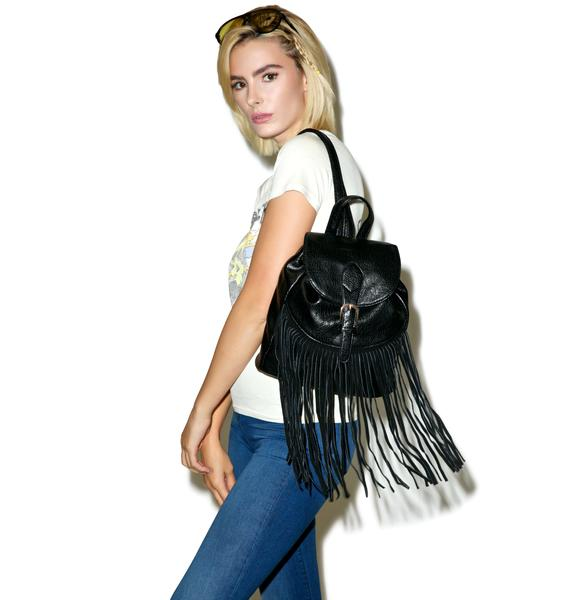 Fleetwood Fringed Mini Backpack
