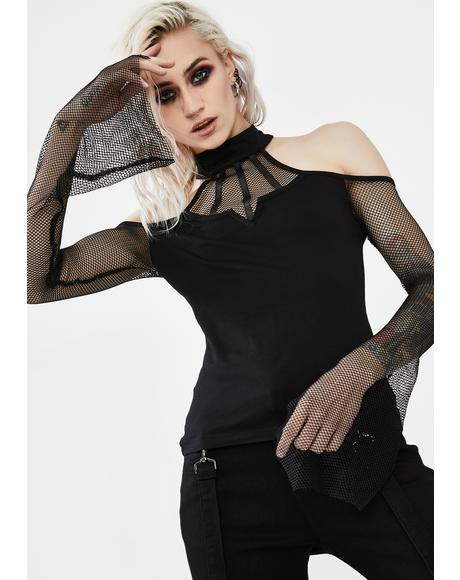 Ghost Temptation Fishnet Top