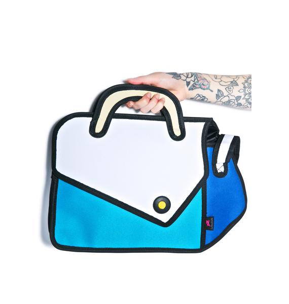 Imaginary Road Trip Cartoon Bag