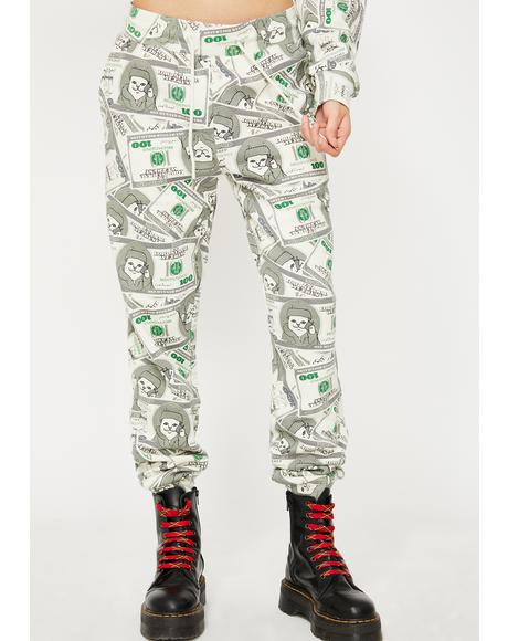 Money Bags Sweatpants