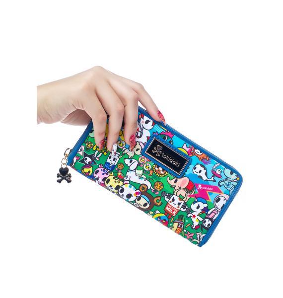 Tokidoki Summer Splash Large Wallet