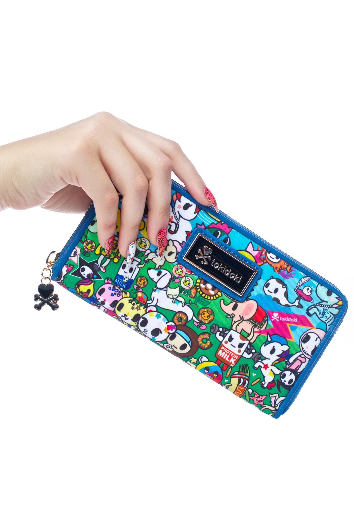 Tokidoki Summer Splash Large Wallet