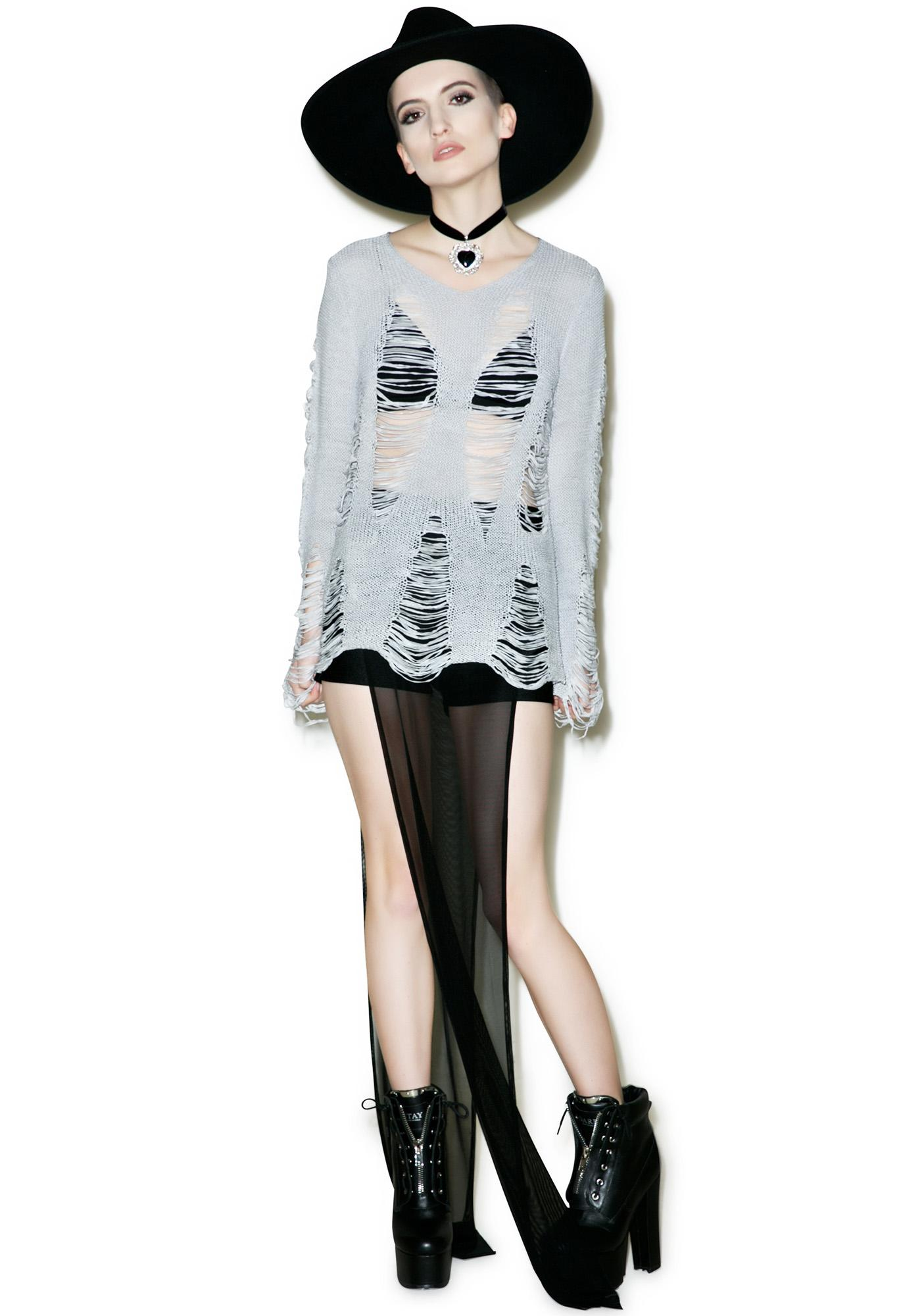 Killstar Baal Knit Sweater