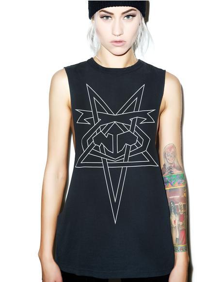 Pentagram Shredder Tank