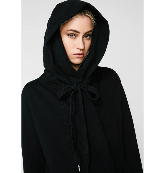 Cult of Individuality Oversized Hooded Cardigan
