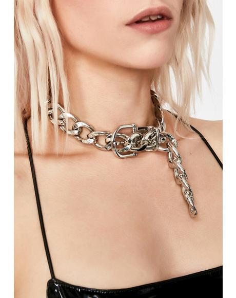 Treat Me Ruff Buckle Choker