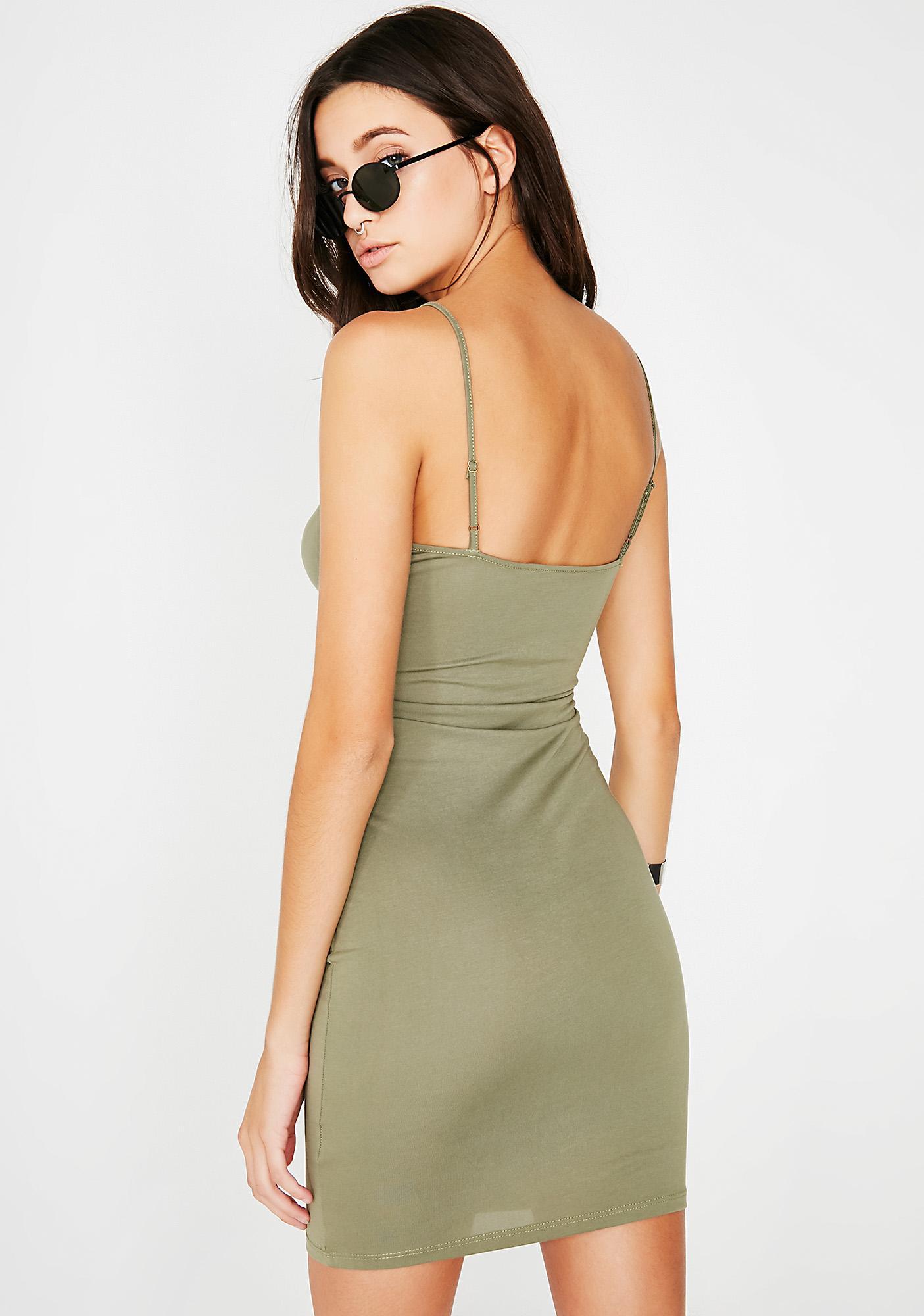 Untold Secrets Cut-Out Dress
