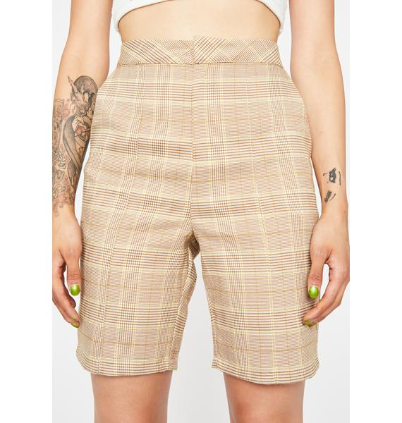 Lawful Bad Plaid Shorts