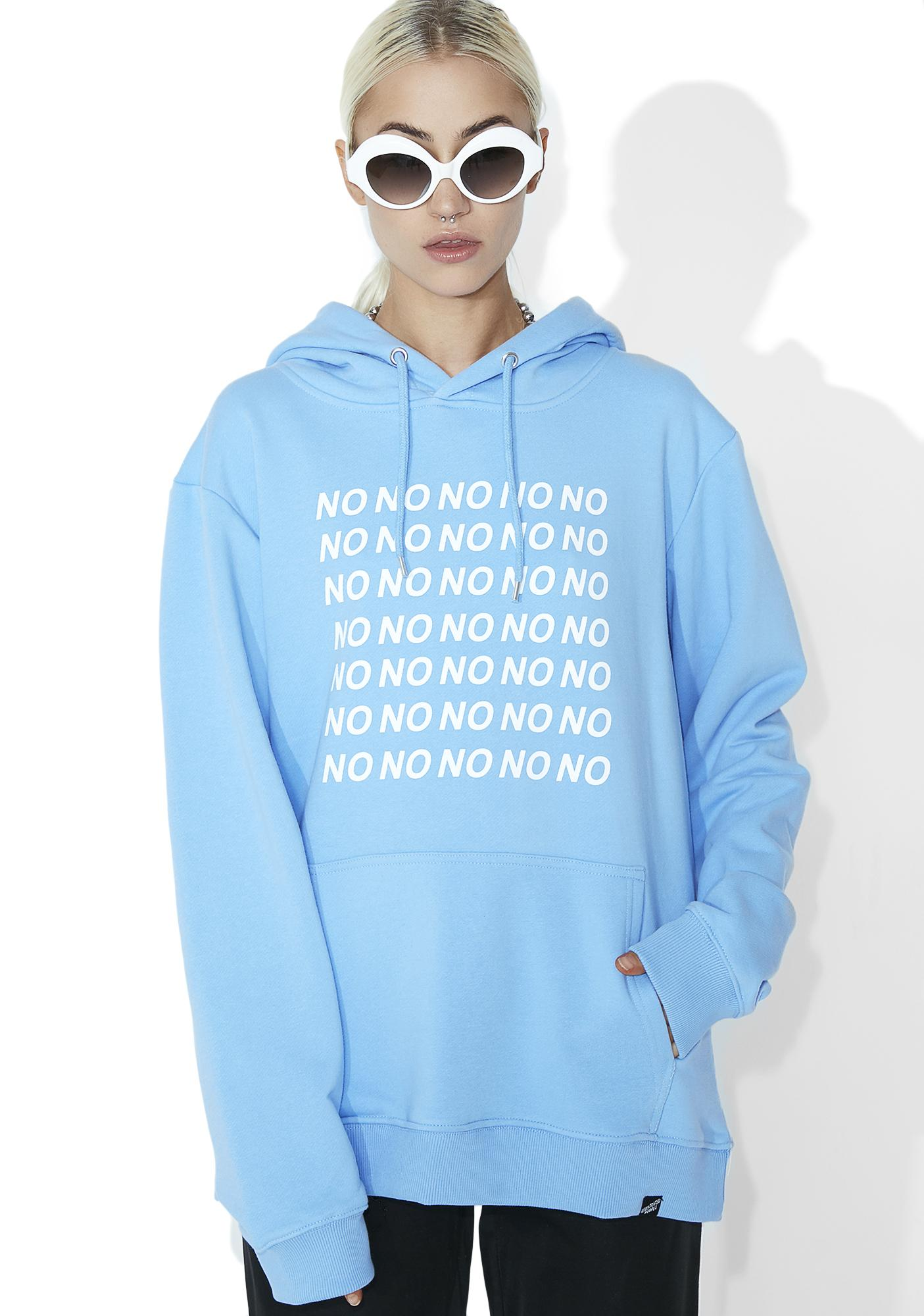 113b870d Illustrated People No No No Hoodie | Dolls Kill