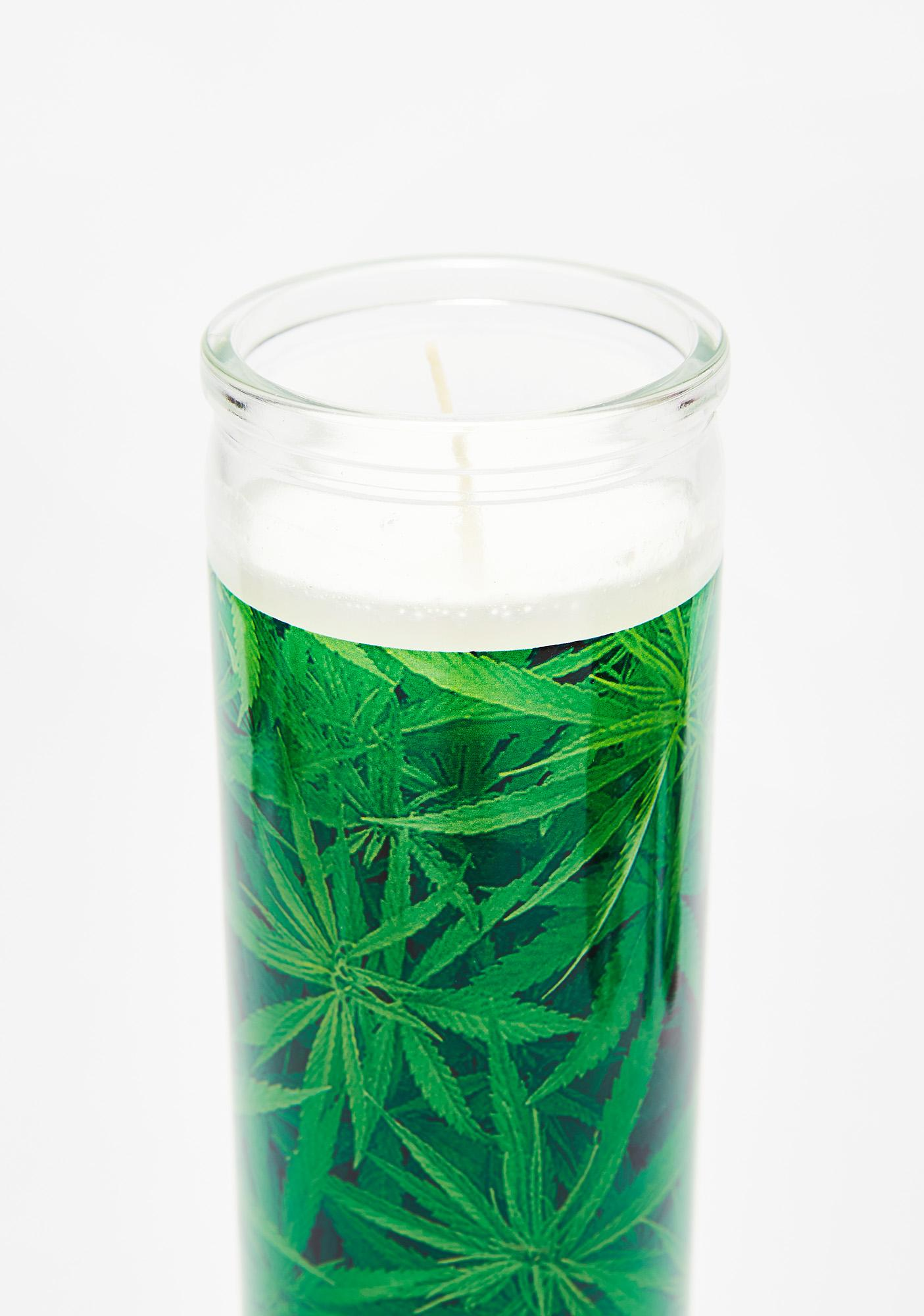 Weed Altar Candle