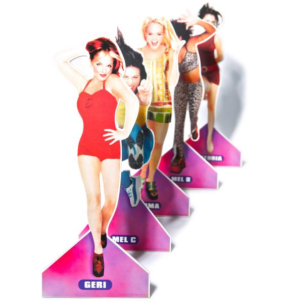 Spice Girl Paper Doll