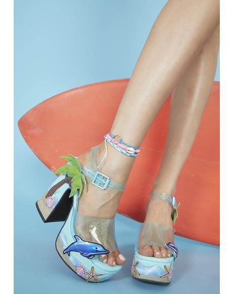 She's A Catch Platform Heels