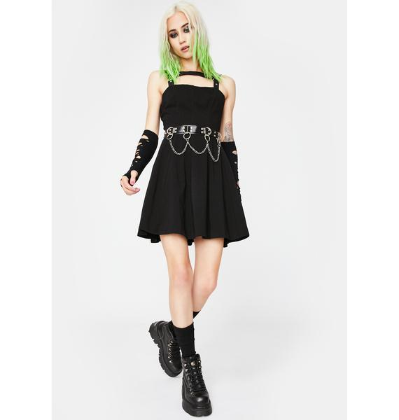 Tripp NYC Harness Mini Dress