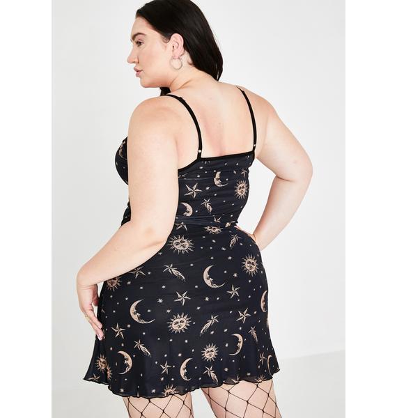 HOROSCOPEZ BB Walk The Moon Slip Dress