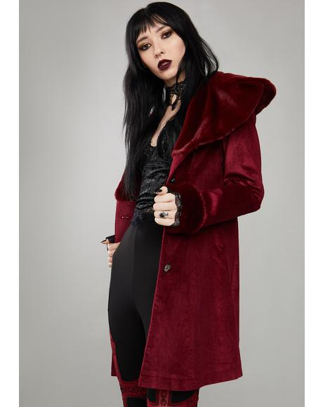 Immortal Covenant Velvet Coat