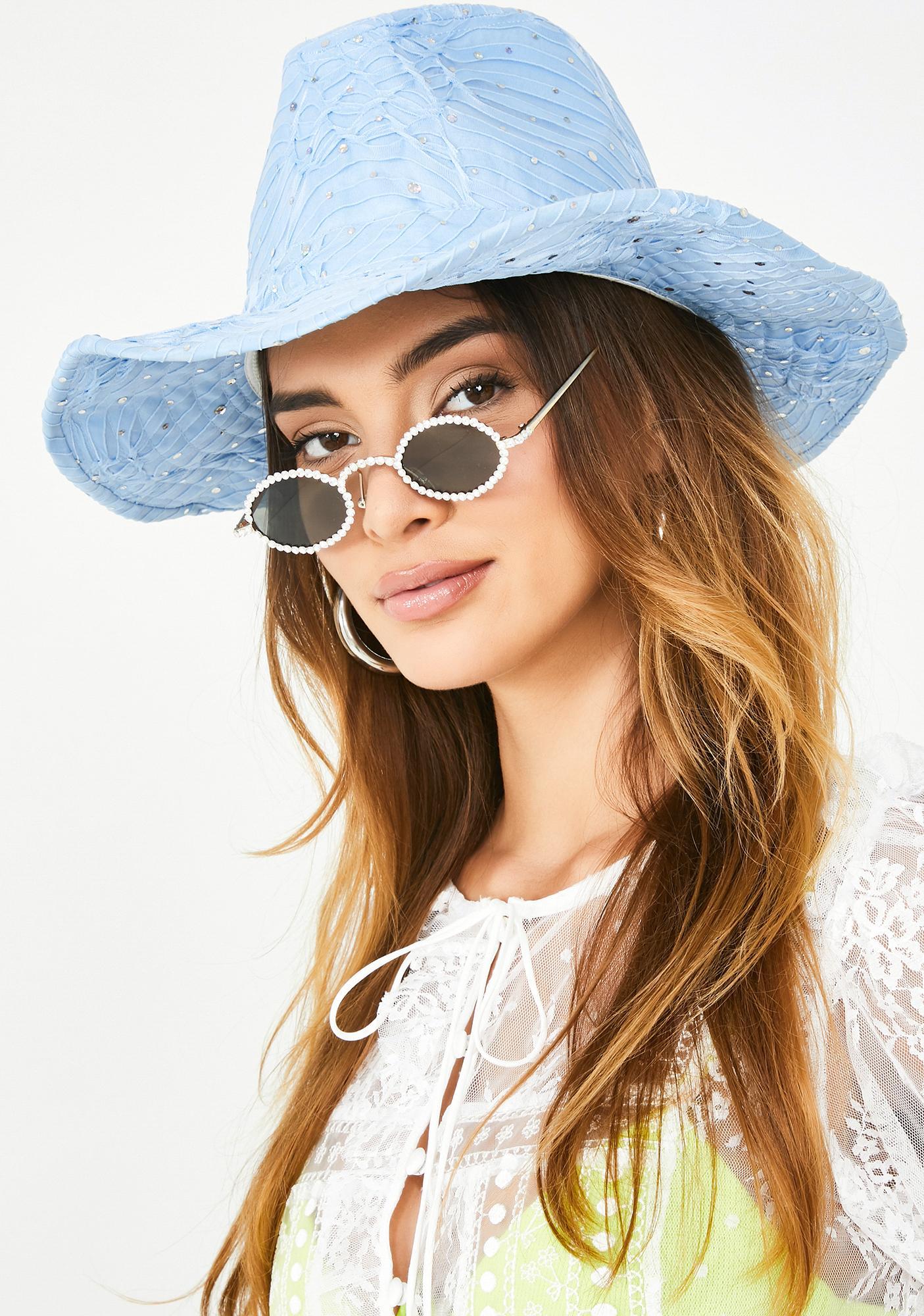 Wavy Moonshine Magic Cowgirl Hat
