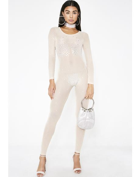 Fame And Fortune Mesh Catsuit