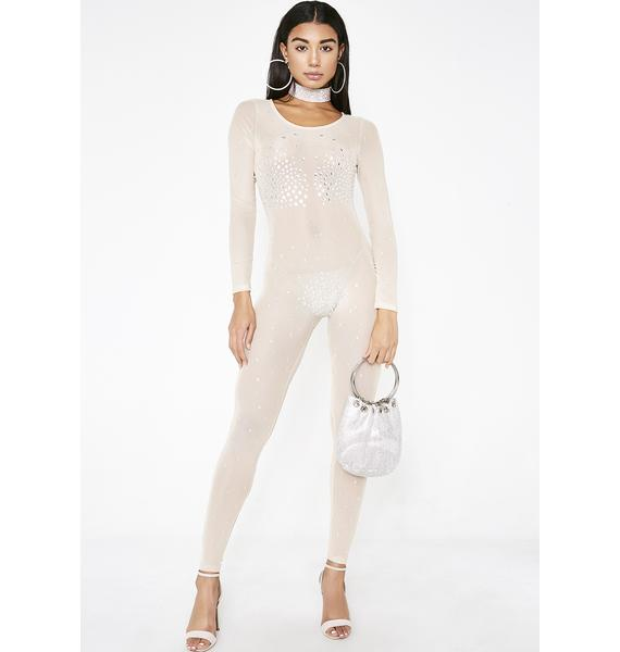 Poster Grl Fame And Fortune Mesh Catsuit
