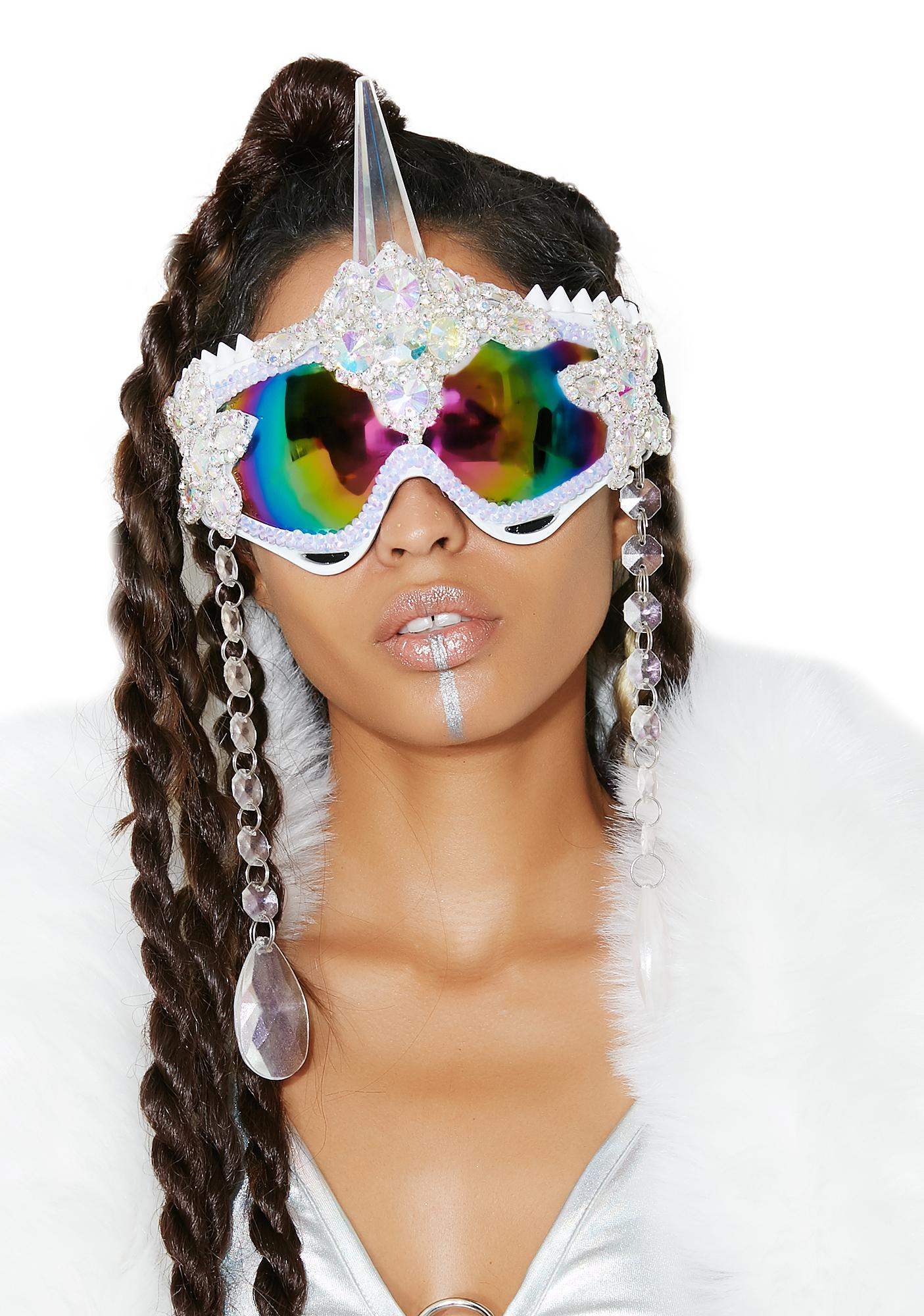 The Lyte Couture Unicorn Goggles