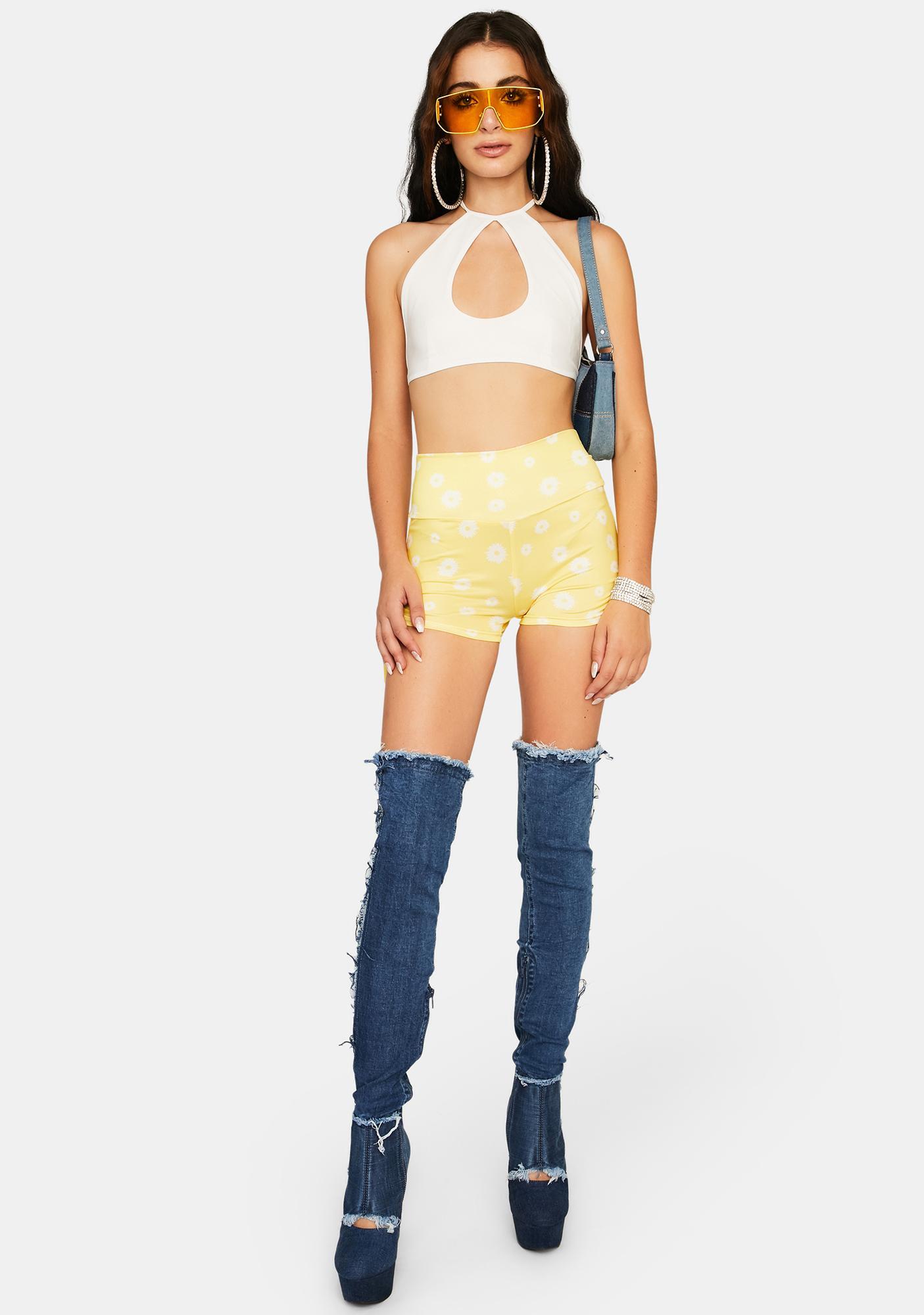 Summer Secrets Ruched Shorts