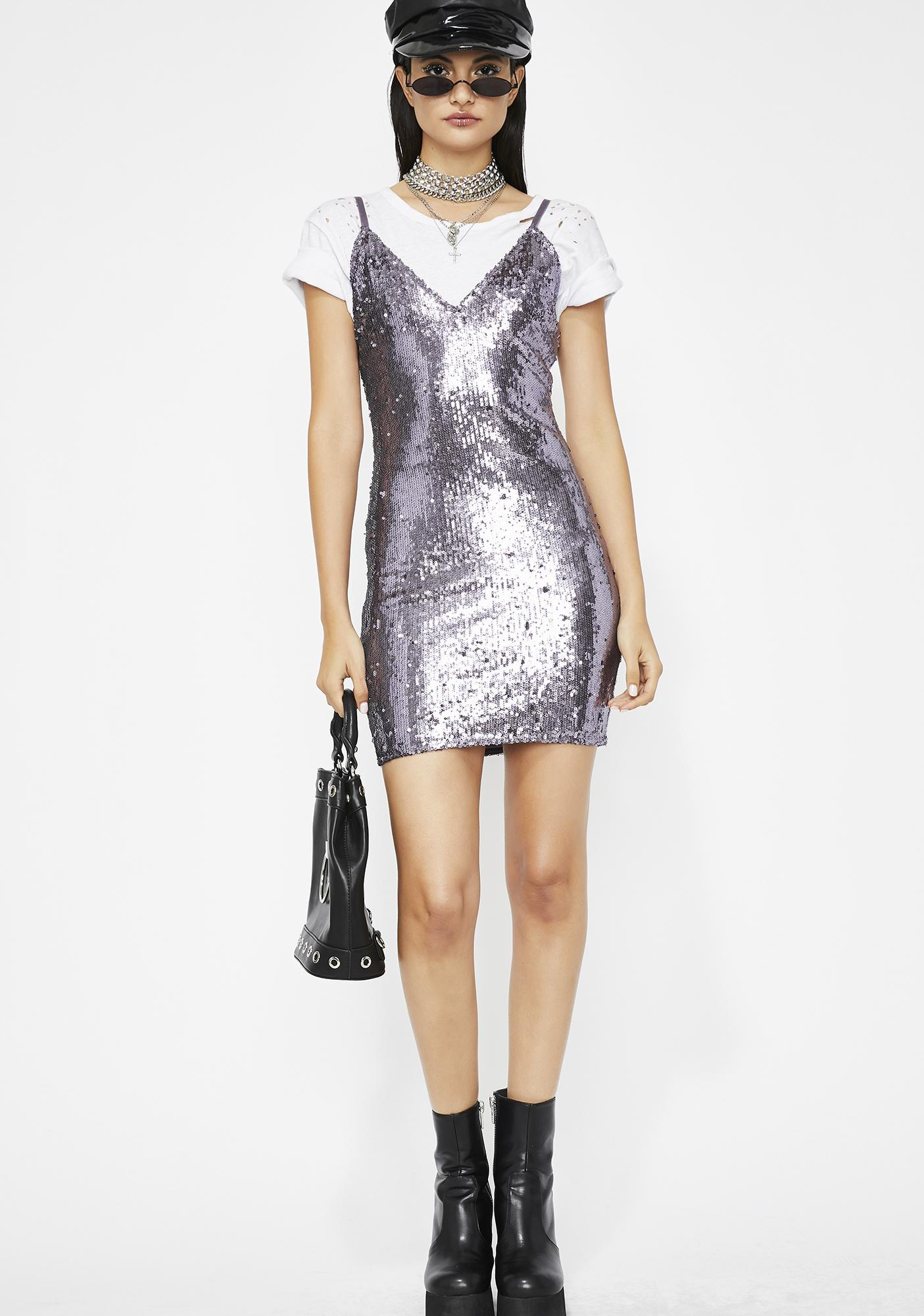 Lady Luster Sequin Dress