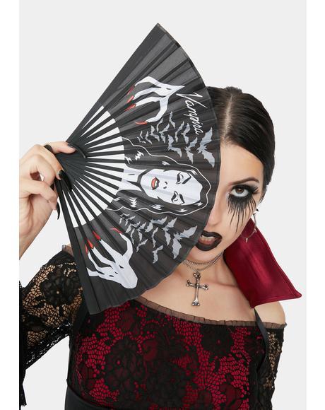 Vampira Hands Fan