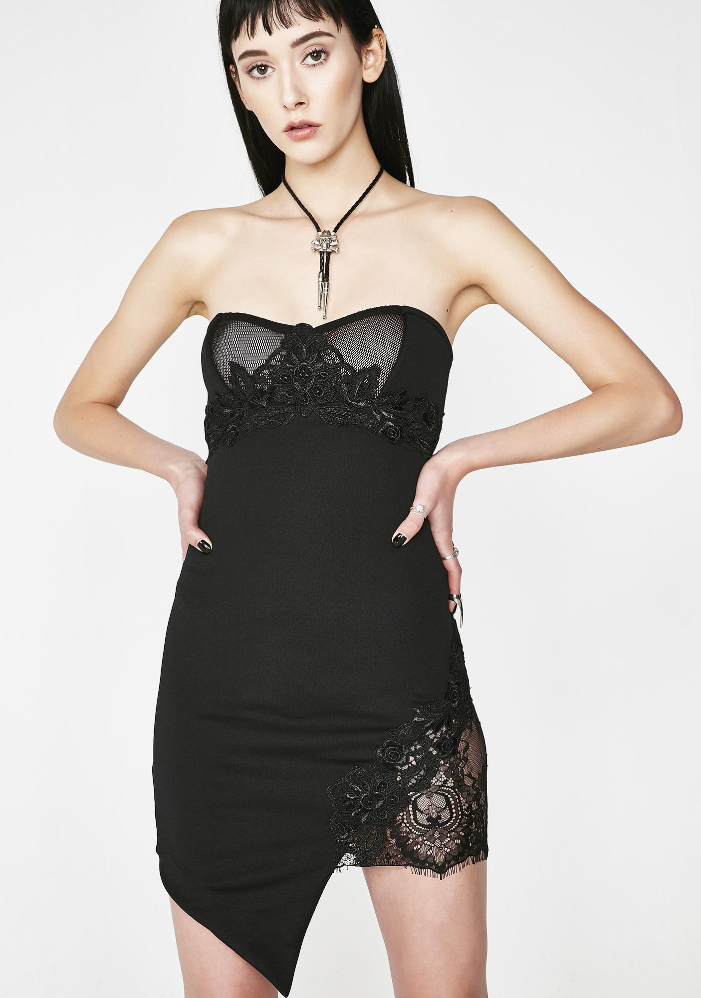 Kiki Riki Under Pressure Strapless Dress