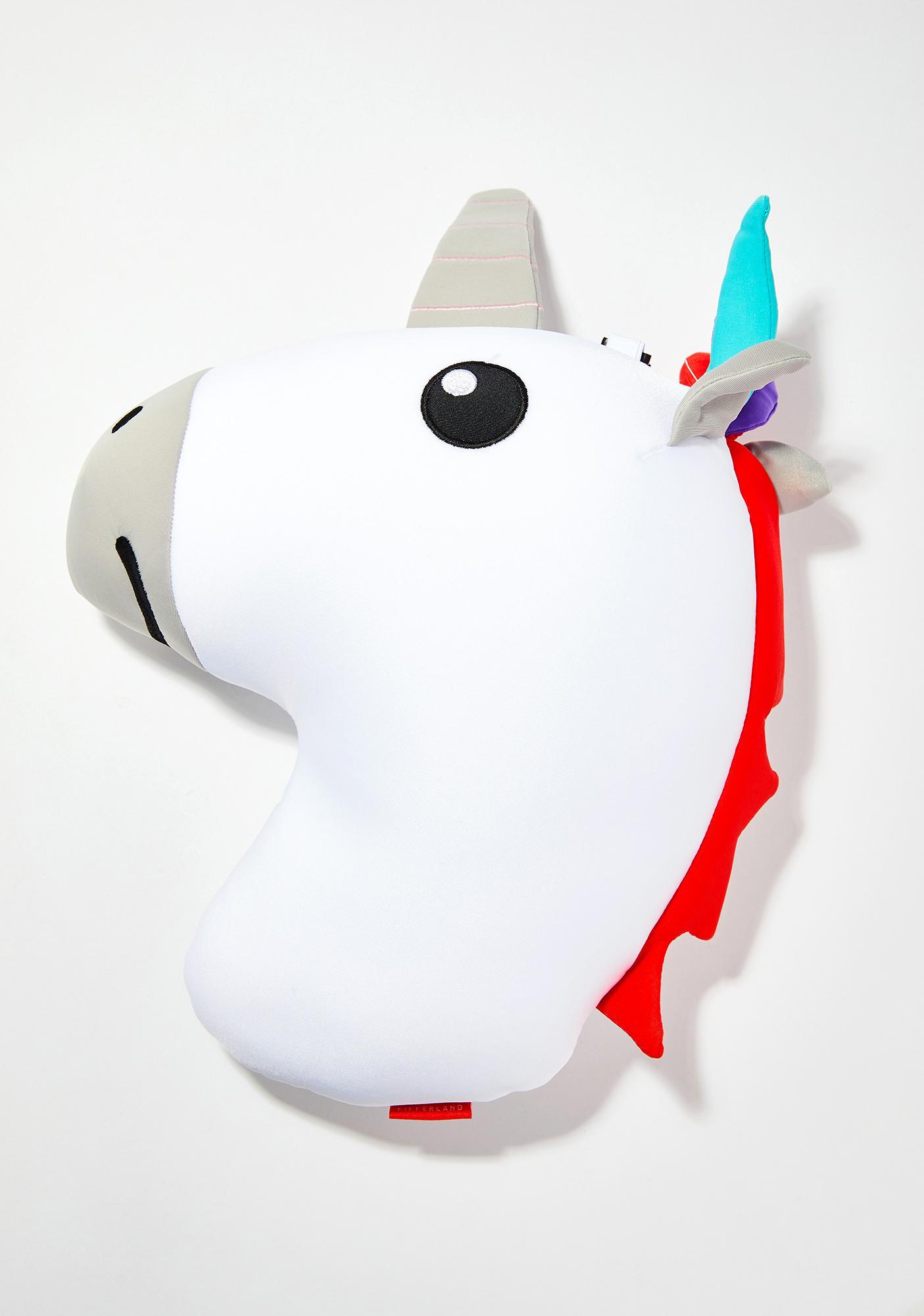 Prismatic Naps Unicorn Pillow