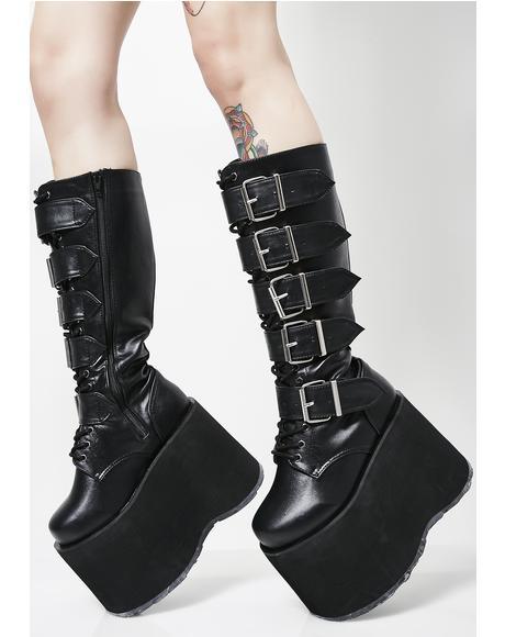 Mega High Platform Boots