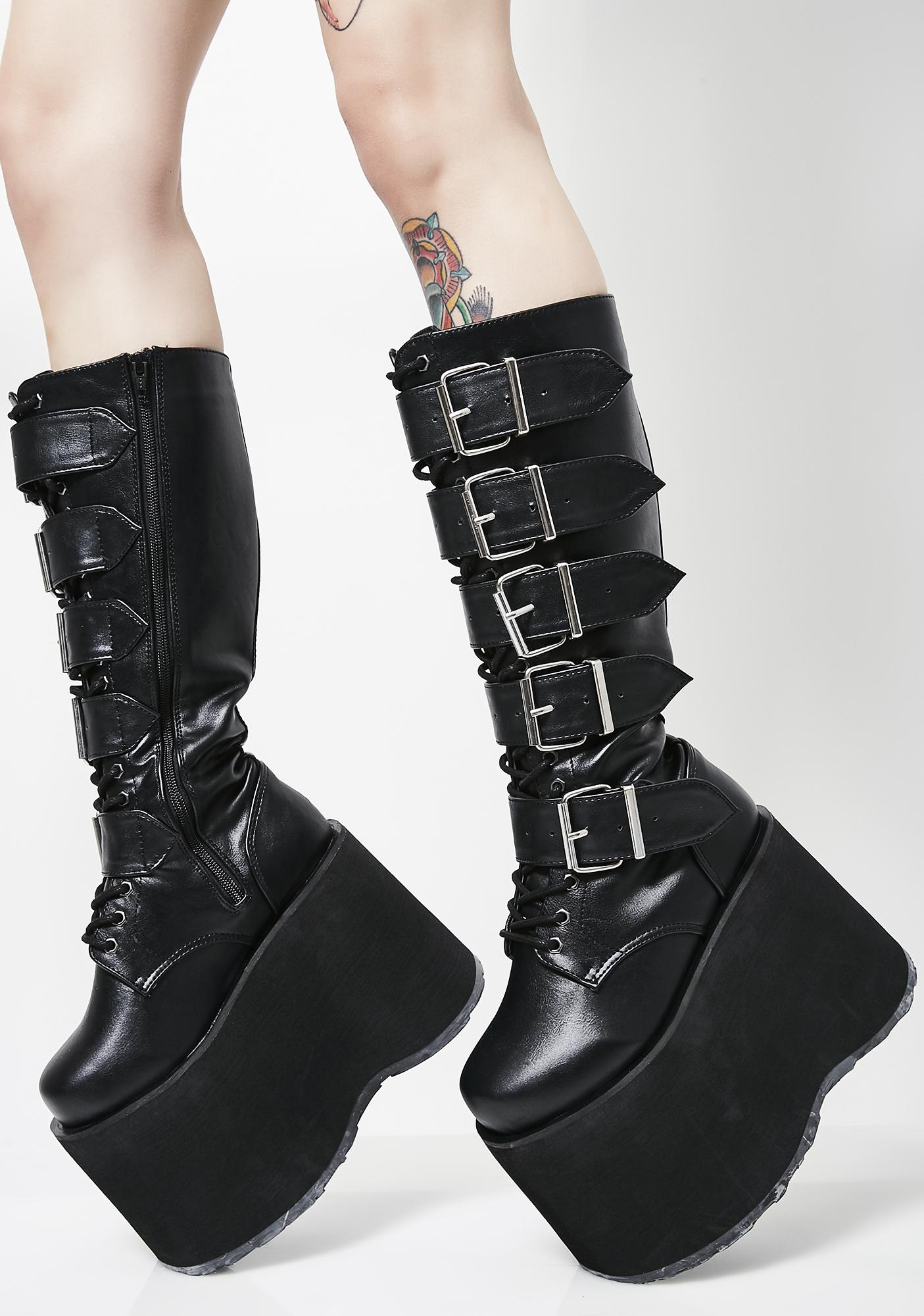 Demonia Mega High Platform Boots