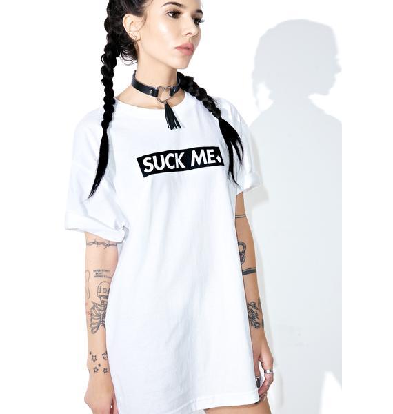 Slushcult Suck Me Logo Tee