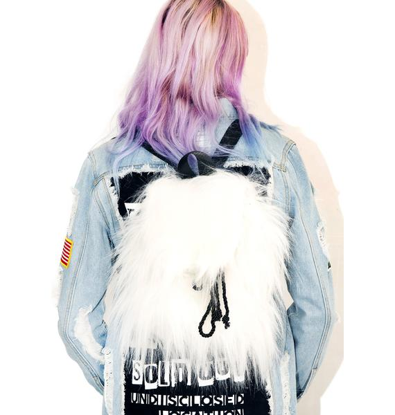 Current Mood Shaggy Mini Backpack