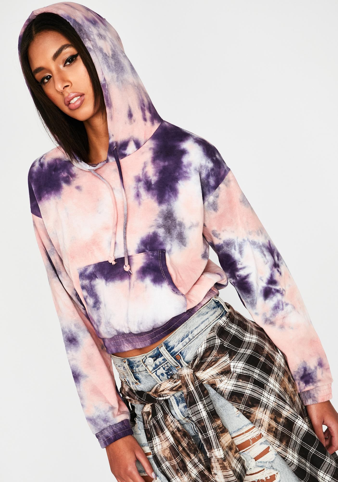 Candy Forever Haze Zip Up Hoodie