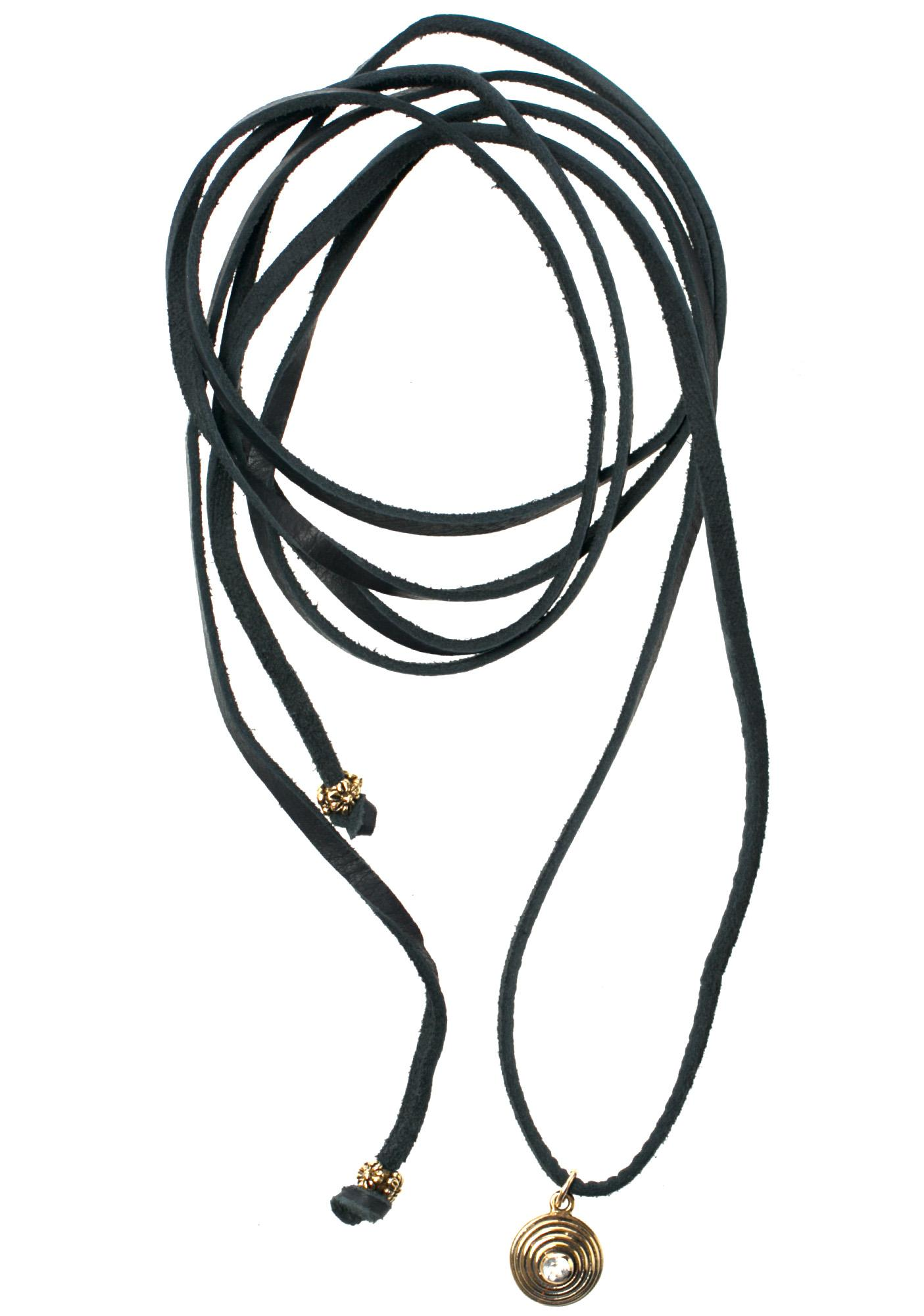 Fraiser Sterling Karma Bolo Wrap Necklace