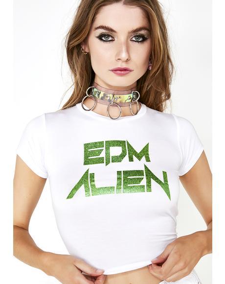 EDM Alien Baby Tee