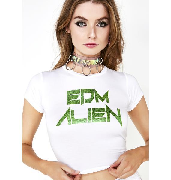 Club Exx EDM Alien Tee